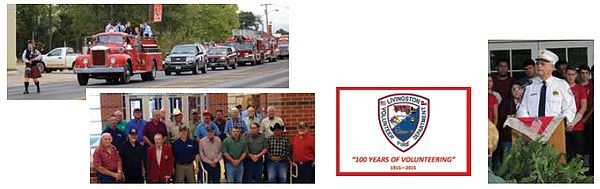 A Fire Department picture collage